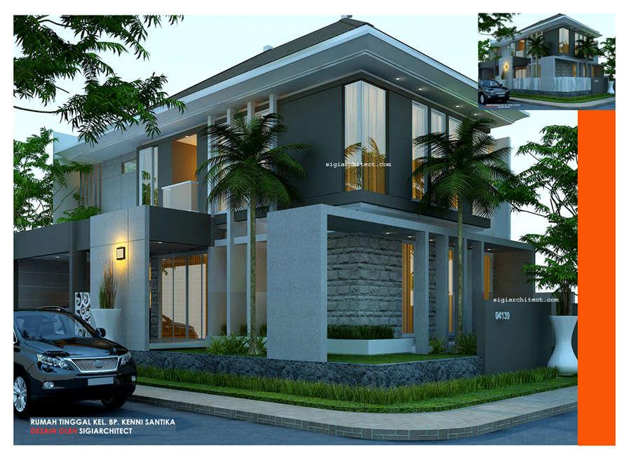 Desain Rumah Minimalis  Lantai Kavling Hook Desain Rumah Minimalis  Lantai