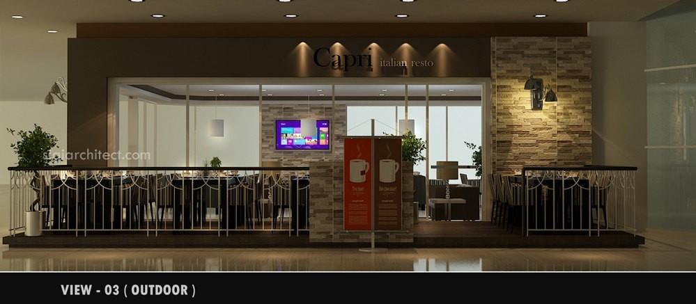 desain rumah tropis kantor interior minimalis