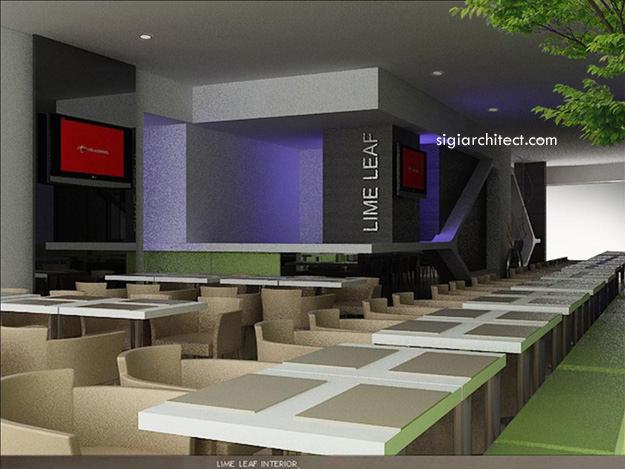Desain Resto Cafe Minimalis Limeleaf Pictures