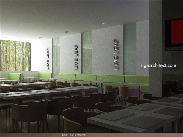 Desain Resto-Cafe Minimalis LimeLeaf 3