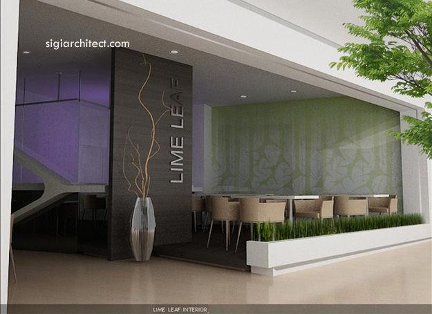 Desain Resto-Cafe Minimalis LimeLeaf 2