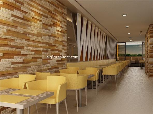 Desain Interior restoran 4