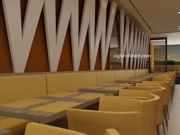 Desain Interior restoran 3
