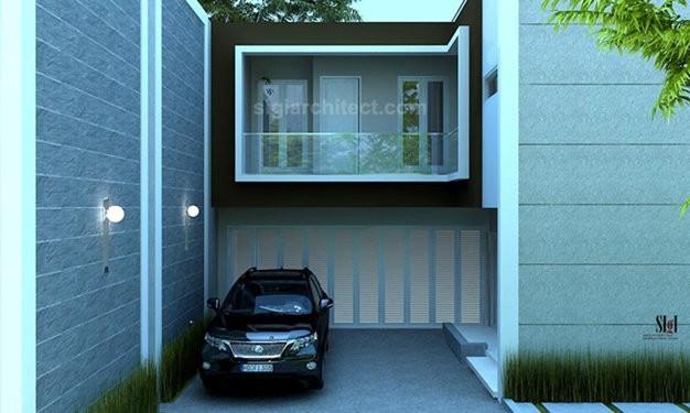 Fasad rumah minimalis 2