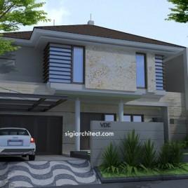Desain Fasad Rumah Tropis Minimalis