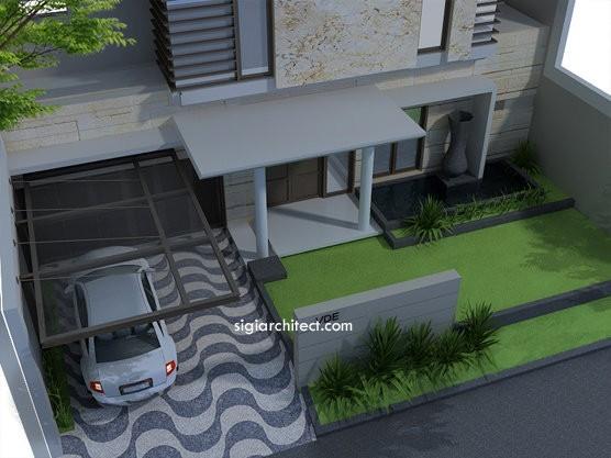 Fasad Rumah Tropis Minimalis