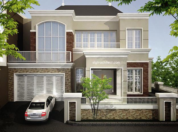 desain rumah tropis kantor dan interior sigiarchitect desain rumah