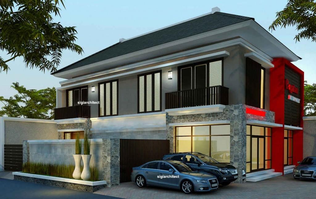 desain rumah tropis minimalis 3