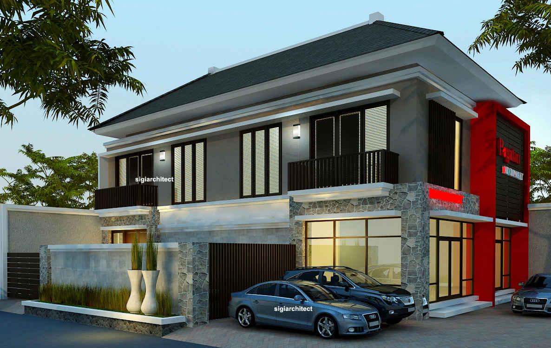 Desain Rumah Tropis Minimalis 2 Lantai Desain Rumah Minimalis