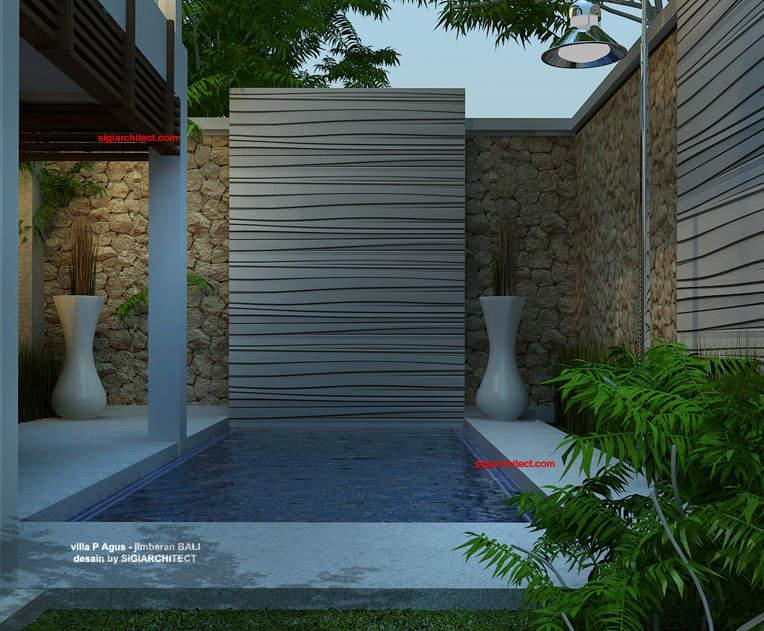 desain villa minimalis renovasi fasad 4