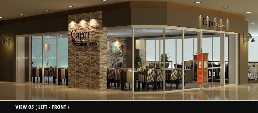 Desain Cafe-Resto Minimalis Modern | Outdoor 5