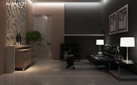 Interior Rumah Minimalis | Living Room 5