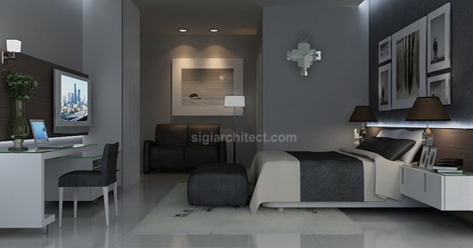 Interior Rumah Minimalis | Living Room 6