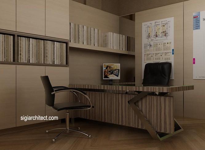 desain kantor minimalis 3