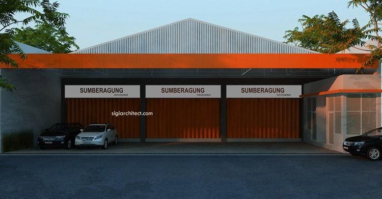 Desain Minimarket-Toko Swalayan Minimalis 2