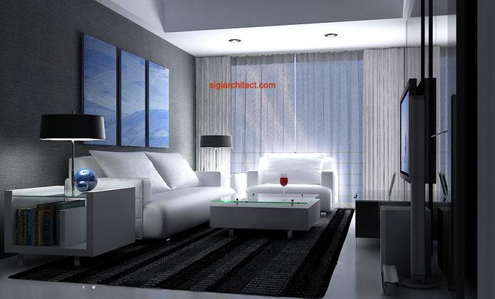 Desain Interior Apartemen | Minimalis 2