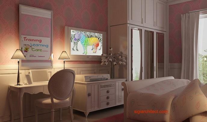Interior Klasik | Kamar Tidur anak 2