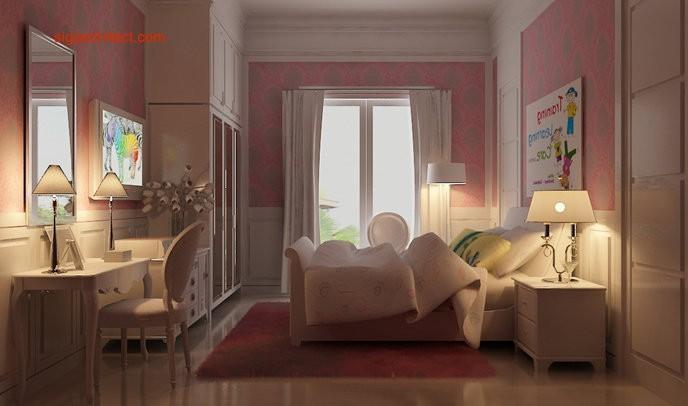 Interior Klasik | Kamar Tidur anak