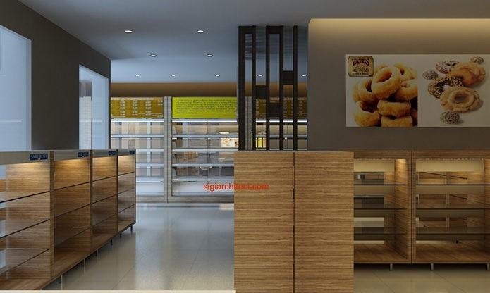 Desain Toko Roti Amp Cafe