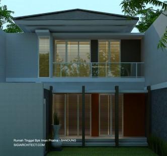 Model rumah 2 lantai