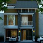 Denah Rumah Kost 3 Lantai | Rumah 2 Lantai