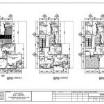 Rumah Kost 2/3 Lantai | Denah & Tampak