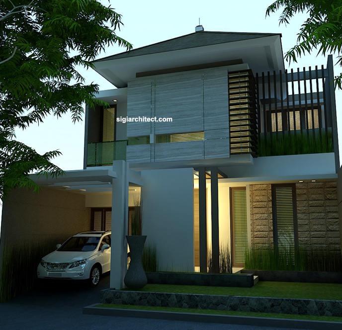 Desain Rumah Tinggal 8