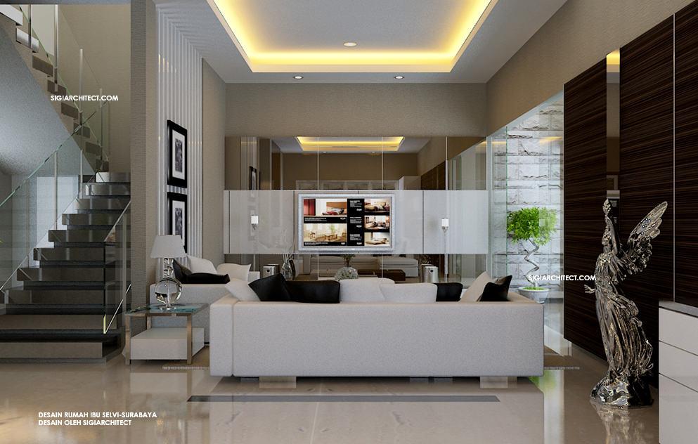 Rumah minimalis tropis interior for Design interior minimalis modern