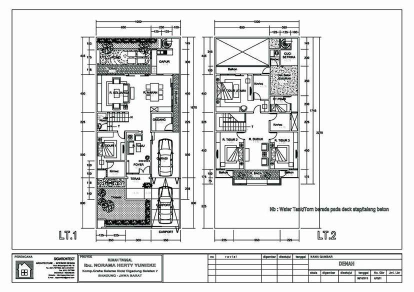 Image Result For Desain Rumah Tingkat Ukuran X