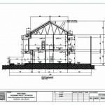 desain rumah 2 lantai _ Potongan melintang