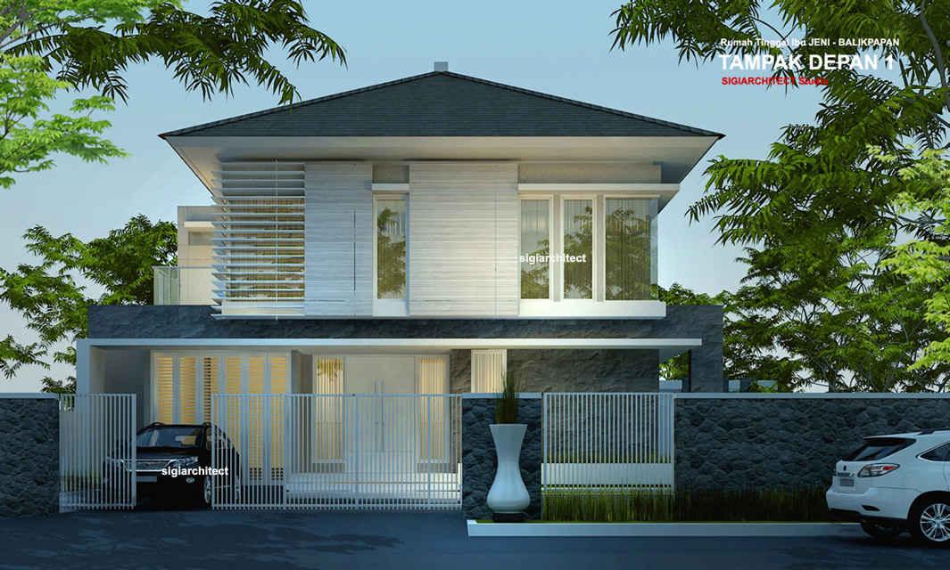 rumah sudut minimalis 2