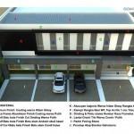 bangunan Kantor 2 lantai - Material Fasad2