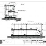 bangunan Kantor 2 lantai_potongan 1