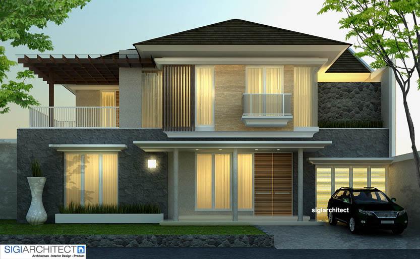desain villa minimalis 2