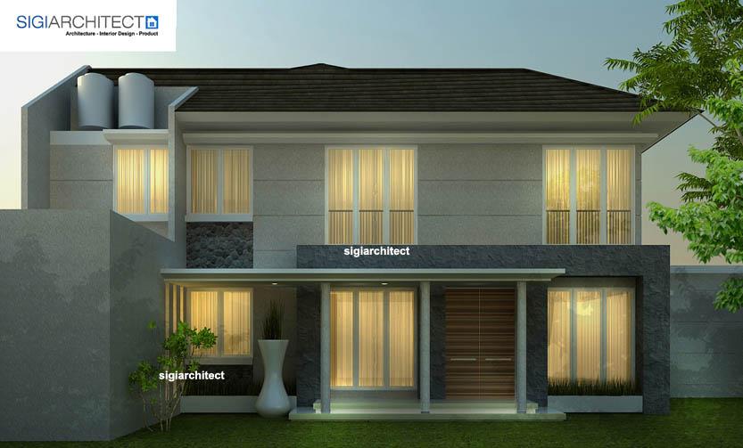 desain villa minimalis 3