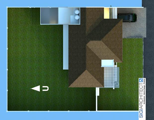 desain villa minimalis 4