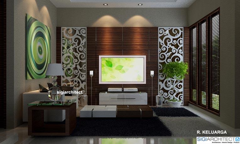 desain villa minimalis tropis