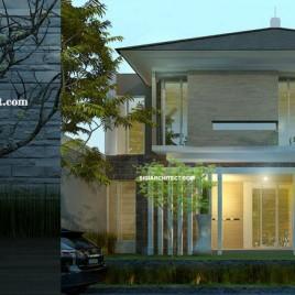 Desain Rumah Mewah 2 Lantai | Modern Tropis Minimalis