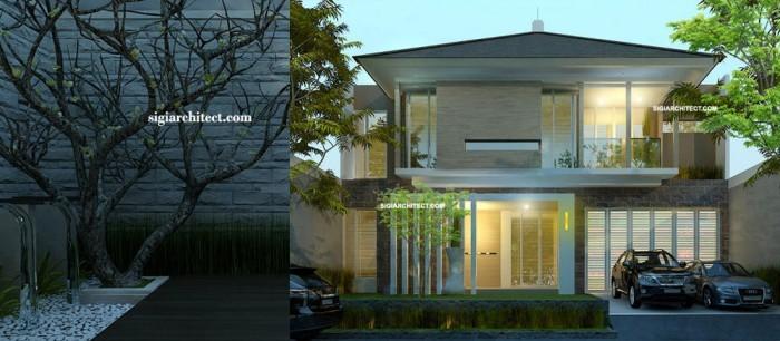 desain rumah tropis kantor interior minimalis share the