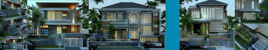 sigiarchitect galeri desain rumah villa