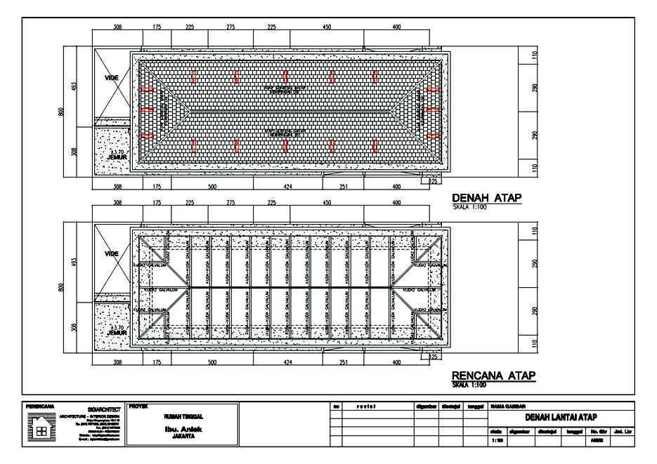 desain rumah urban 2-lantai_atap