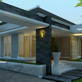 Rumah Minimalis Modern Semi Resort di PEKANBARU