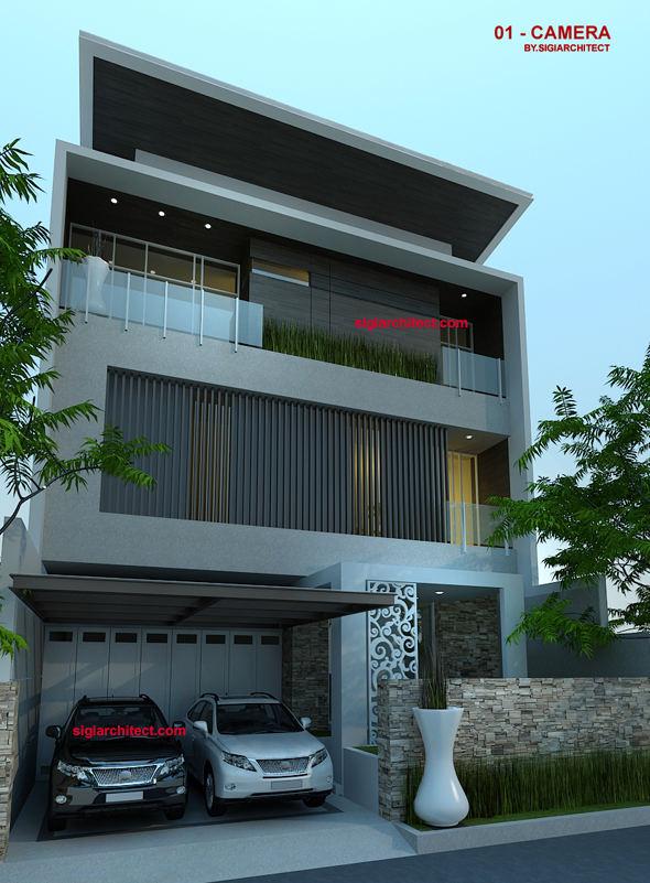 rumah minimalis mewah modern