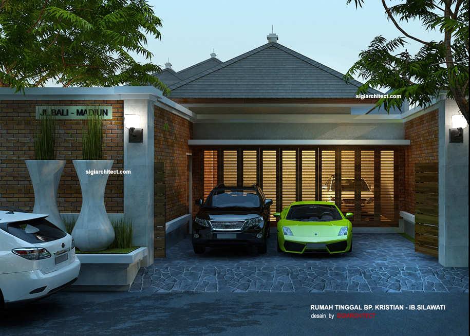 desain rumah joglo3 & Rumah Joglo _Villa Tropis