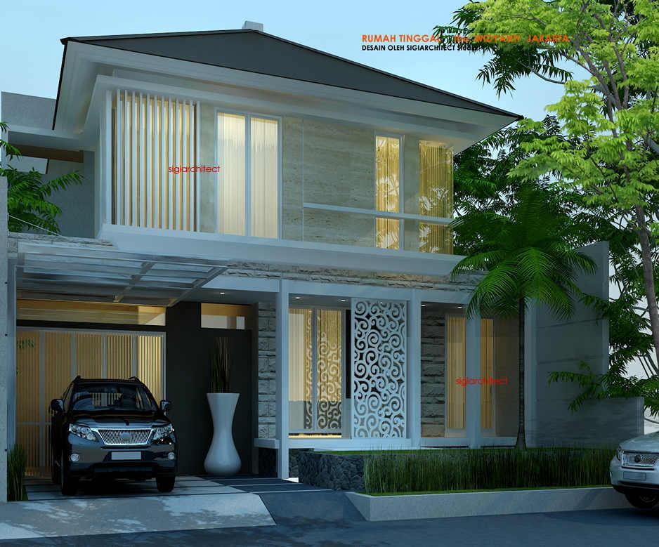 desain rumah tropis batu alam 2