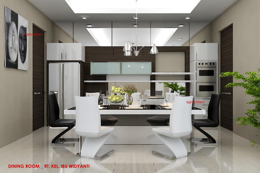 jasa arsitek desain rumah tropis _interior dining room