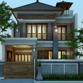 Rumah Etnik Jawa 2 Lantai_joglo