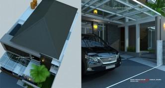 desain rumah 2 lantai minimalis_ tropis modern