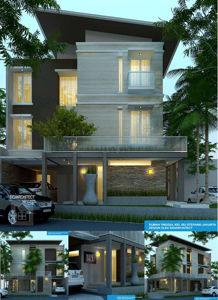 Desain Rumah 3 Lantai Hook Jasa Arsitek Desain Rumah Tropis Villa
