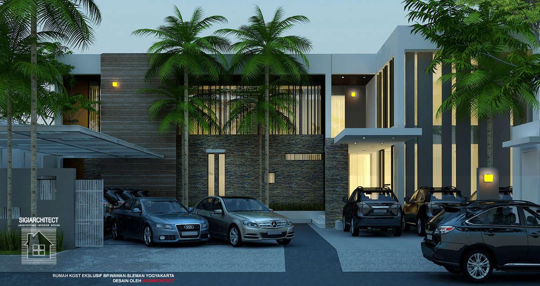 Desain Rumah Kost Eksklusif  Lantai